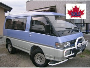 1993 Delica L300 Exceed 65km