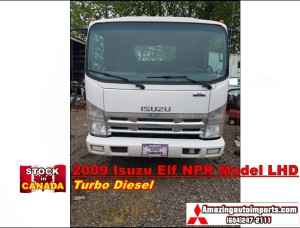 2009 Isuzu Elf NPR Model Turbo Diesel LHD