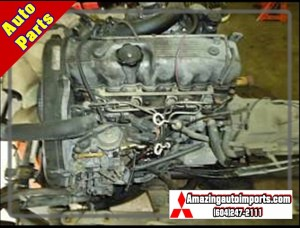 Used Delica L300 2.5L 4D56T Turbo Engine