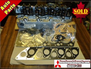 Mitsubishi Delica L300 & Pajero 4D56T Complete Cylinder Head Assembly