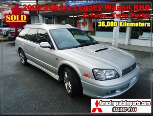 2000 Subaru Legacy Wagon E-Tune Twin Turbo RHD 36,000 km