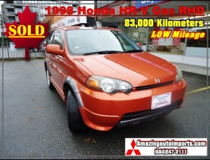 1998 Honda HR-V Gas Engine RHD 83,000 km