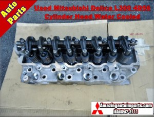 Used Mitsubishi Delica L300 4D56 Cylinder Head Water Cooled