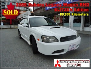 2000 Subaru Legacy Wagon BLITZEN Edition Twin Turbo RHD 80,000 km