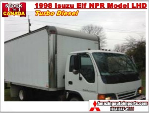 1998 Isuzu Elf NPR Model Turbo Diesel LHD