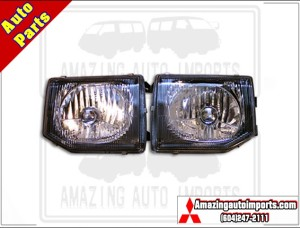 Pajero Headlight LHD